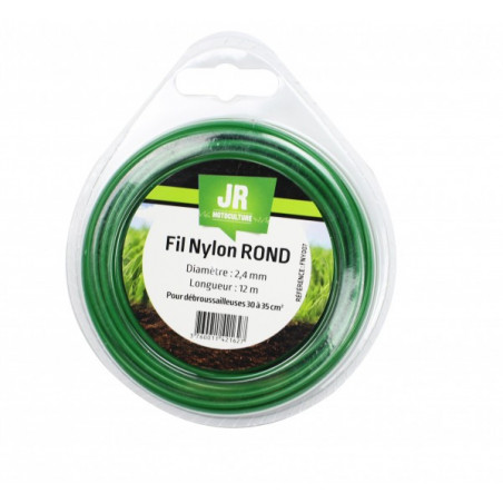 JR Fil nylon 2.4 mm - Rond FNY007