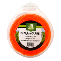 JR Fil nylon 1.6 mm - Carré FNY034