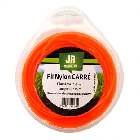 JR Fil nylon 1.6 mm - Carré FNY034