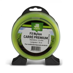JR Fil nylon 1.3 mm - Carré - Premium FNY046