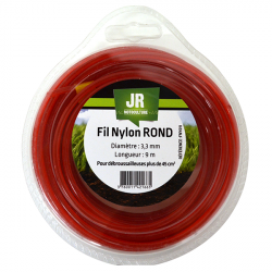 JR Fil nylon 3.3 mm - Rond FNY011