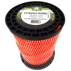 JR Fil nylon 4 mm - Rond FNY031