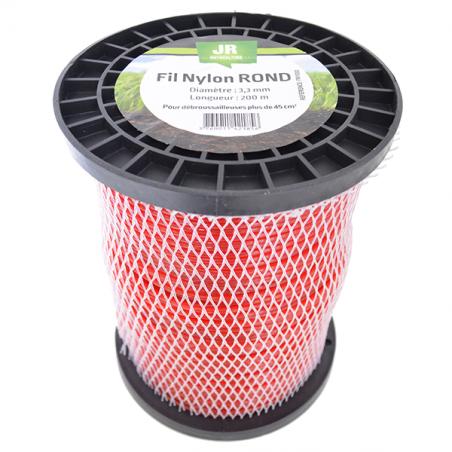 JR Fil nylon 3.3 mm - Rond FNY030