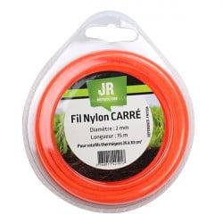 JR Fil nylon 2 mm - Carré FNY036