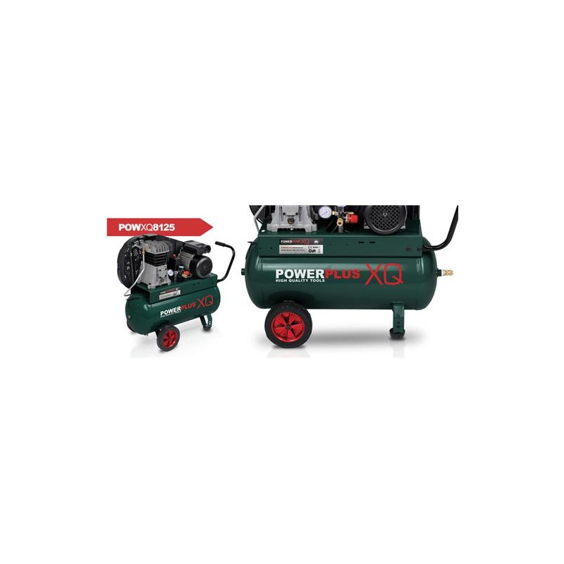 POWERPLUS Compresseur air 50 litres POWXQ8125