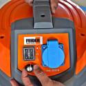 FEIDER Aspirateur spécial plâtre 1400W 20 + 20 L - Cuve Inox FAP1440
