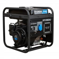 HYUNDAI Groupe électrogène inverter 3000W HY3000C - vue de biais