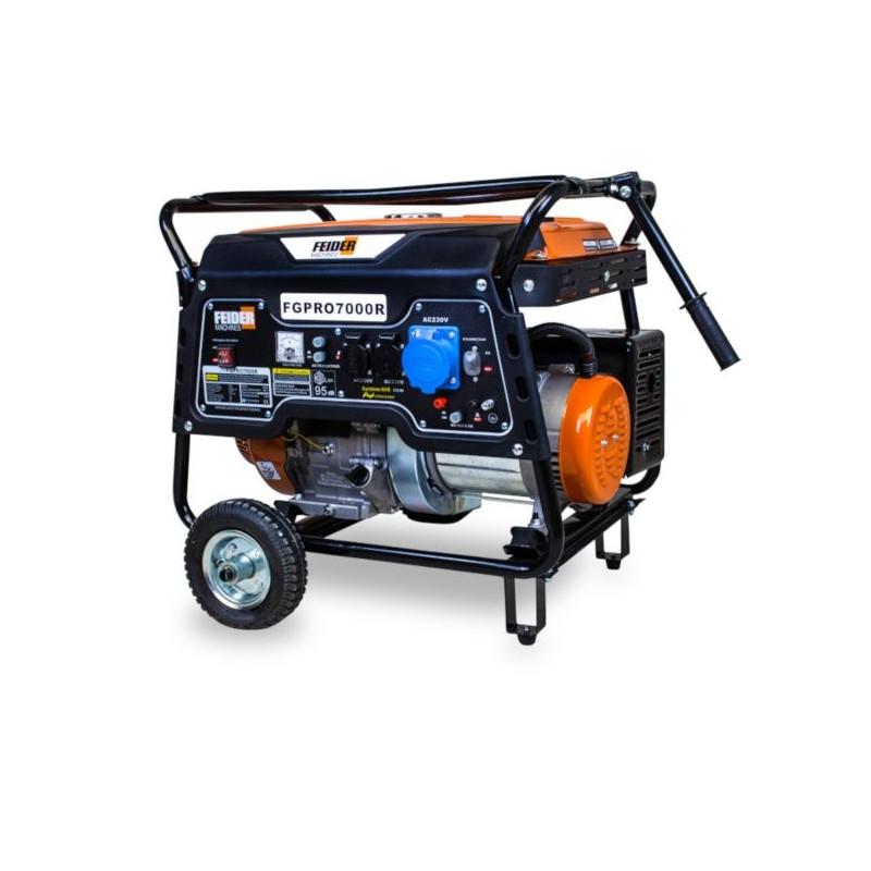 FEIDER Groupe électrogène essence 6500W FGPRO7000R-A
