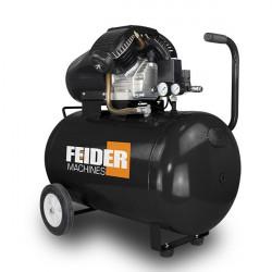 FEIDER Compresseur 100 L 8 bar 3 hp 369 L/min XFC100L-A - Reconditionne