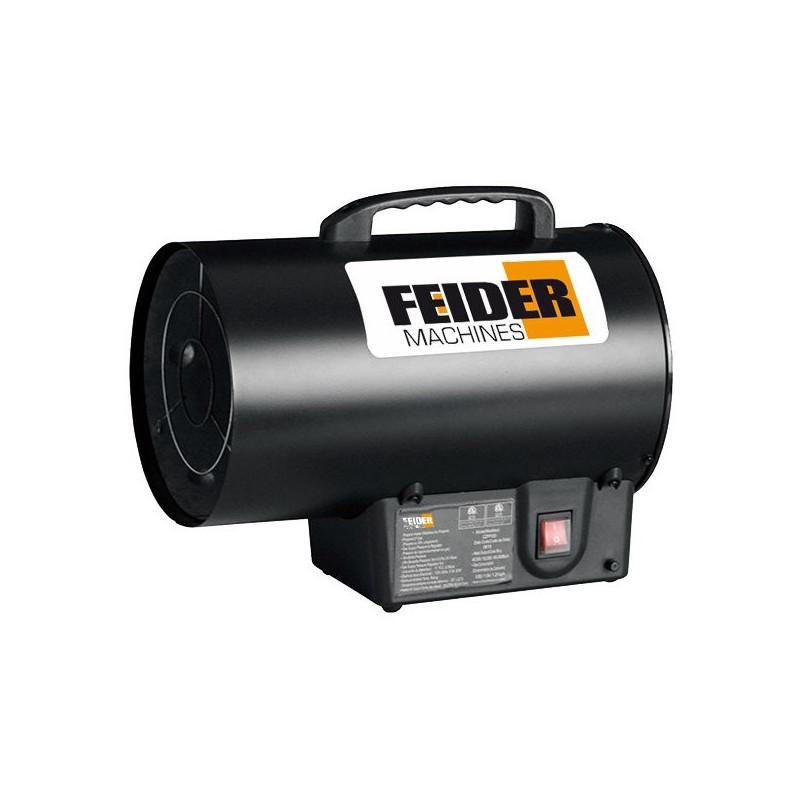 FEIDER Chauffage gaz 15000 W 51100 Btu 300 m³/h 150 m² XFCD15KW-1 - Reconditionne