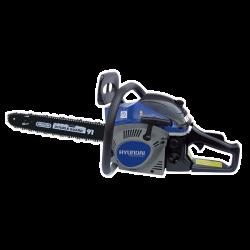 HYUNDAI Tronçonneuse thermique 46 cm³ 45 cm Guide et chaîne OREGON démarrage manuel avec lanceur HTRT45-5-1