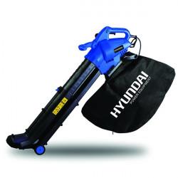 HYUNDAI Aspirateur souffleur broyeur électrique 3000 W 45 L - Variateur de vitesse HAS30TCL