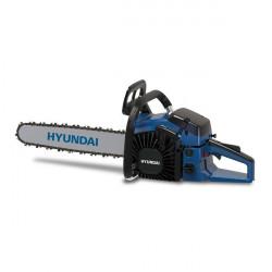 HYUNDAI Tronçonneuse thermique 53 cm³ 50 cm - Guide et chaîne Hyundai - démarrage manuel avec lanceur HTRTPRO5350-4-1