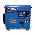 HYUNDAI Groupe électrogène diesel 6500W Monophasé HDG6500