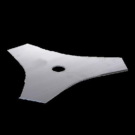 JR Disques de débroussailleuses 255 mm 2 mm 3 dents DDS008