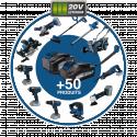 HYUNDAI Visseuse à choc sans fil 20 V 158 Nm HVC20V