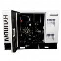 HYUNDAI Groupe électrogène insonorisé Diesel 8800W DHY9KSEm