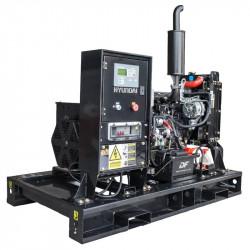 Groupe électrogène HYUNDAI industriel professionnel DHY9KEM - Vue groupe