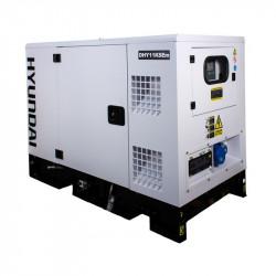 HYUNDAI Groupe électrogène industriel Diesel 11000W DHY11KSEM
