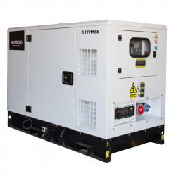 HYUNDAI Groupe électrogène industriel Diesel 11kVA DHY11KSE (triphasé)