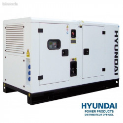 HYUNDAI Groupe électrogène industriel Diesel 17kVA DHY16KSE (triphasé)