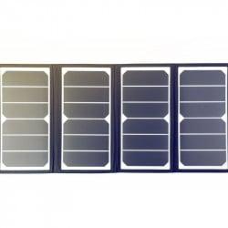 Hyundai Panneau solaire portable et pliable 60W pour station d'énergie H60