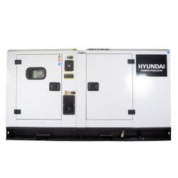 HYUNDAI Groupe électrogène industriel Diesel 66kVA DHY66KSE (triphasé) - Vue latérale