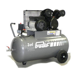 PRODIF Compresseur courroie bi-cylindre 100 l 3 cv VC3551003M