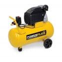 POWERPLUS Compresseur air 50 litres 8 bar - POWX1760