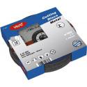 Disques a decouper metal 180x3mm 10 pieces VT35042