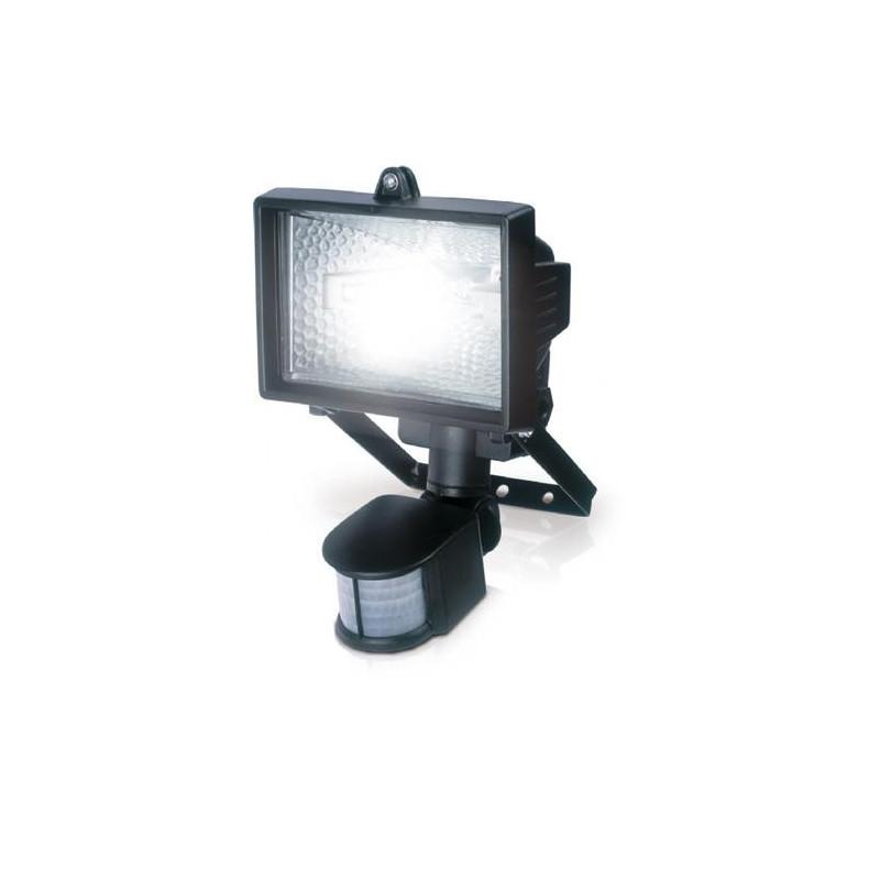 Projecteur halogene avec detecteur 500 watts POW-li-021