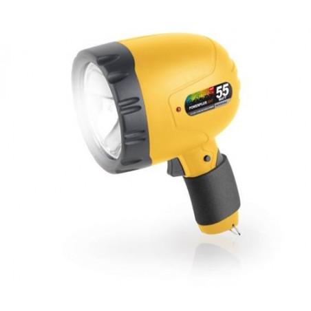 Spot halogene rechargeable 55 watts 1000000cd POW li300
