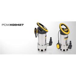 Pompe d'evacuation eaux chargees 1100 watts POW-XG9427