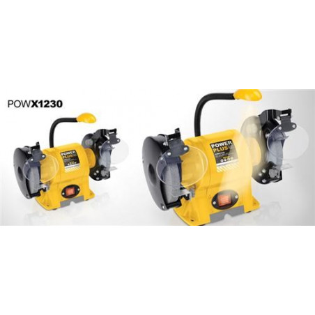 POWERPLUS Touret à meuler 350 W 150 mm - POWX1230