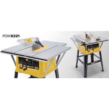 POWERPLUS Scie circulaire sur table 1500 W 254 mm - POWX221