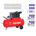 PRODIF Compresseur courroie bi-cylindre v 150 l 3cv VC3051503M
