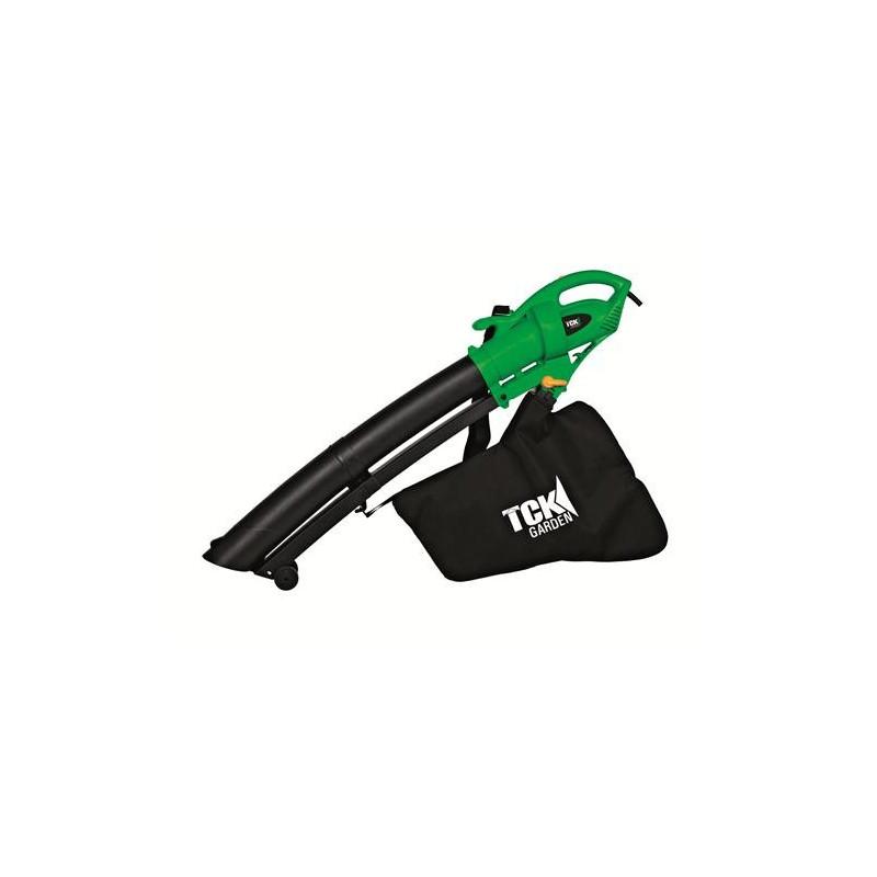 TCK Aspirateur souffleur broyeur 2600W ASBE2600-1