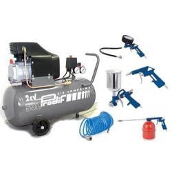 PRODIF Compresseur 50 litres 853j + 5 outils F