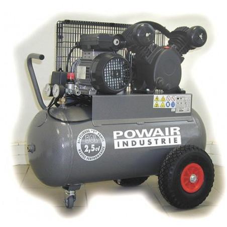 PRODIF Compresseur courroie bi-cylindre V 50 l 2,5 cv vc1850502mg