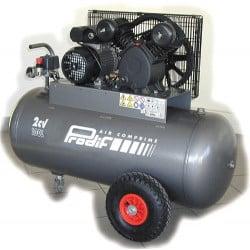 PRODIF Compresseur courroie bi-cylindre v 100 l 2 cv vc1851002mg