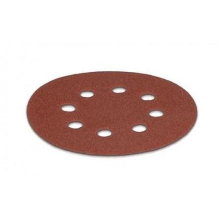 Feuilles abrasives grain 120 5 pieces pour ponceuse