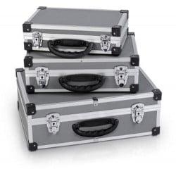 Valises 3 en 1 aluminium  prm 10120
