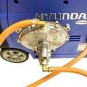 HYUNDAI Motoculteur motobineuse thermique 6 fraises HMTB6855