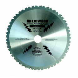 FEIDER Lame multi usages 28 dents predator 254MM PREDA254